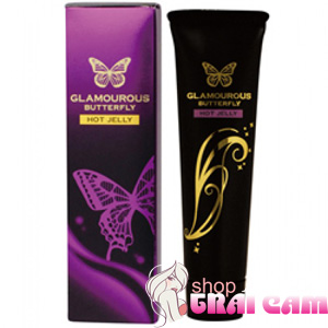 Gel bôi trơn Glamours Butterfly Hot Jelly