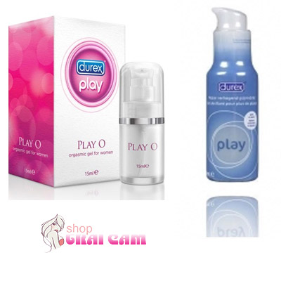 Gel bôi trơn  Play Pump 100ml - Durex